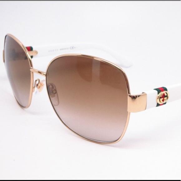 93546e117d17 Gucci Accessories   Sunglasses Whitegold Gg 4242s 24s6y   Poshmark